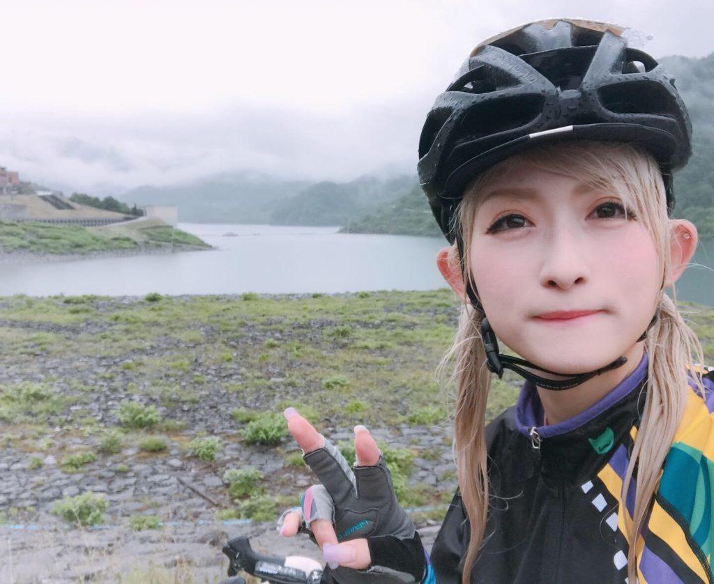 雨の日のサイクリングの話
