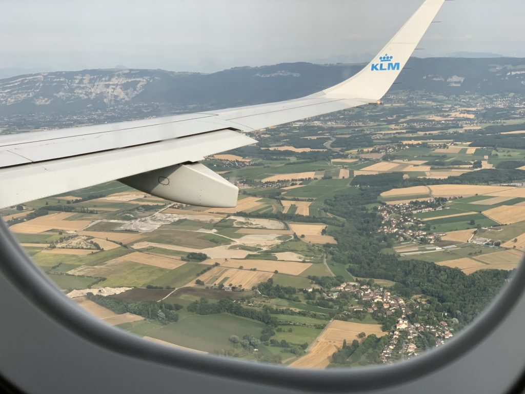 フランス到着の日