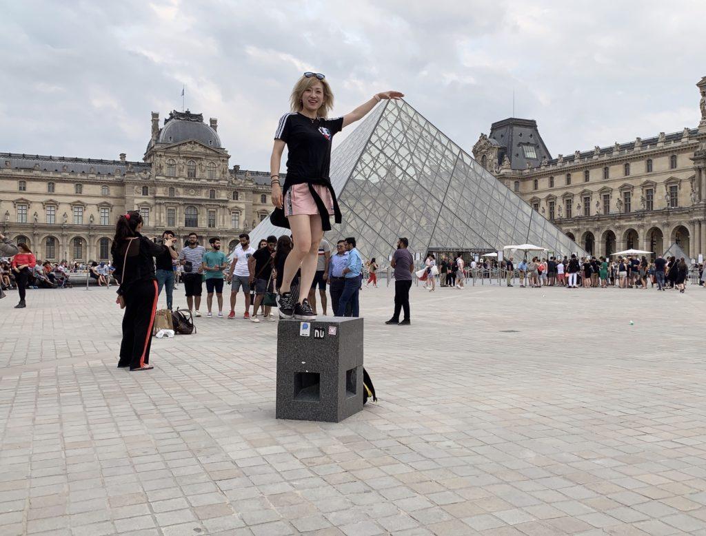 ニース→パリの日(フランス遠征8日目)