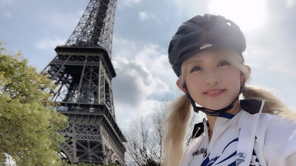 フランス遠征最後の日(パリ市内サイクリング〜ツール・ド・フランス最終ステージ観戦)